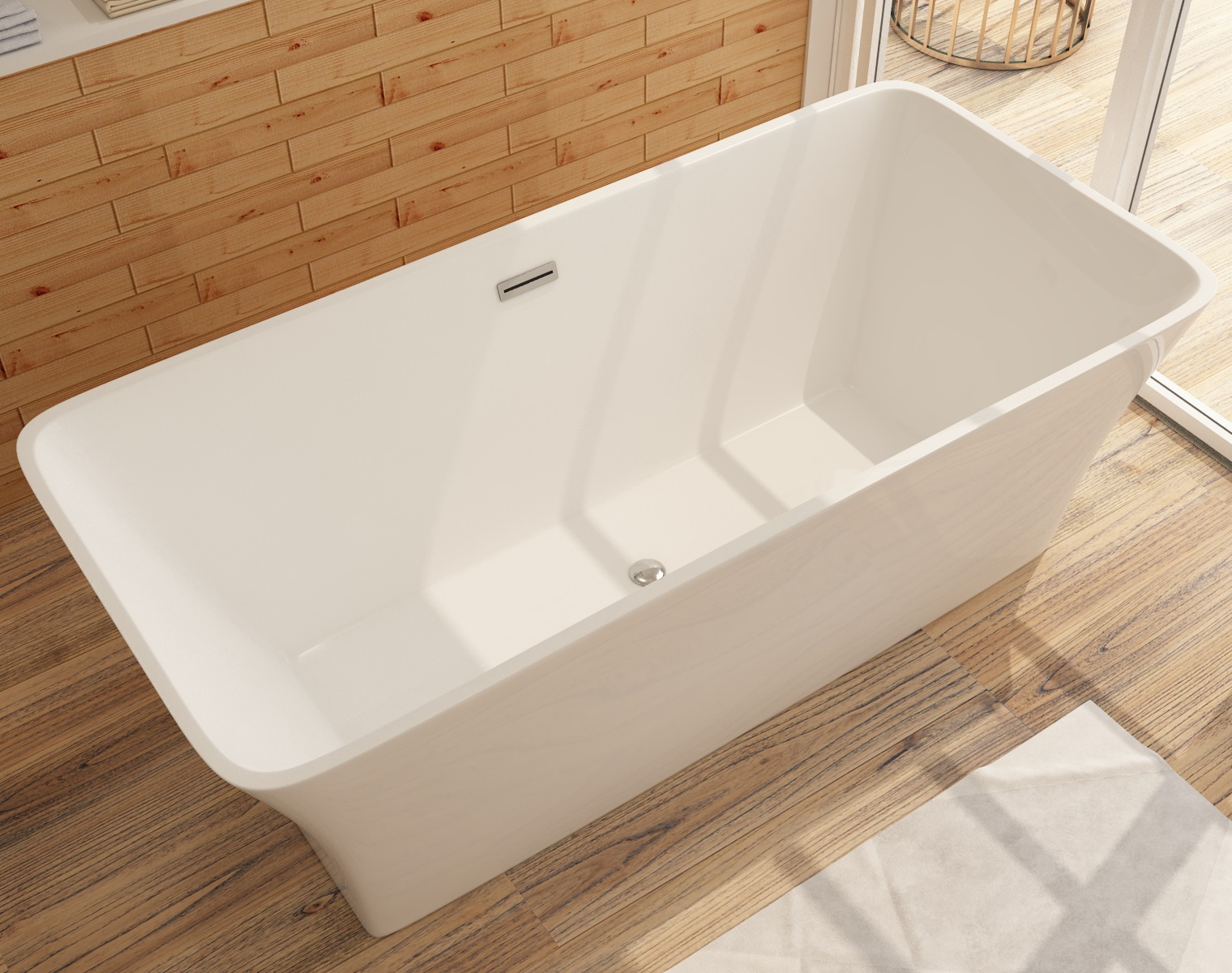 Badewanne aus Sanitäracryl Karlstat - ALLE GRÖßEN